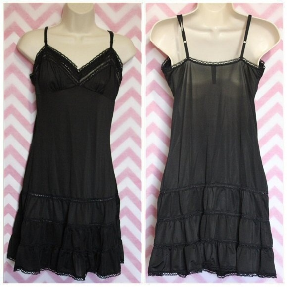 Victoria's Secret Other - VS Sexy Little Things Black Lace Slip Size M